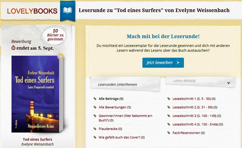 leserunde bei lovelybooks