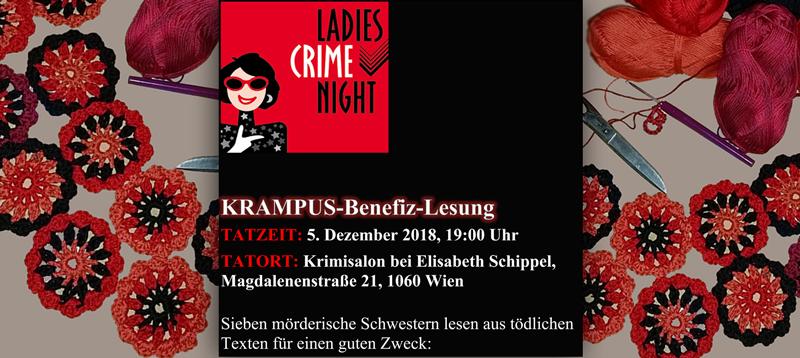 ankuendigung ladies crime night